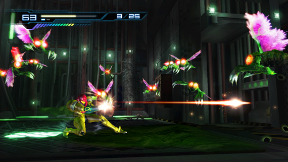 2D Metroid is also back on the console!