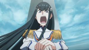 Student council/kinda fascistic leader, Satsuki Kiryuuin